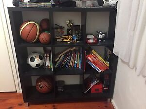Black Cubicle Shelving Unit Mill Park Whittlesea Area Preview