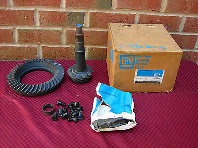 GM NOS 3:73 RING PINION GEARS 10 BOLT REAR 8.5 G BODY CHEVROLET TRUCK TRANS AM