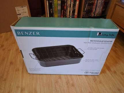 Benzer Roaster Pan (NEW) (Non-Stick) 42x32x9.5cm