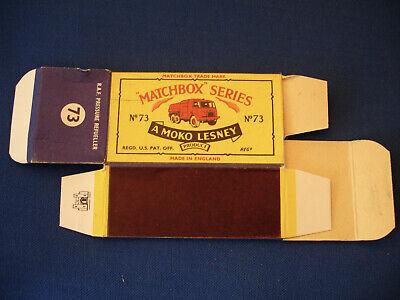 Matchbox Moko Lesney No.73 R.A.F. Pressure Refueller Original Box Lot-10