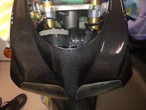 ducati carbon fibre fairing nose 748 916 996 998 fiber street