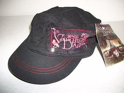 THE VAMPIRE DIARIES Women's Cap Hat  Black/Red  Adjustable Size   **BRAND  NEW** - Vampire Women
