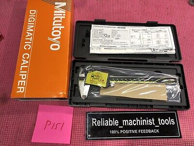 New Mitutoyo Japan Made 6 Inch Absolute Digital Calipermachinist Tool P151