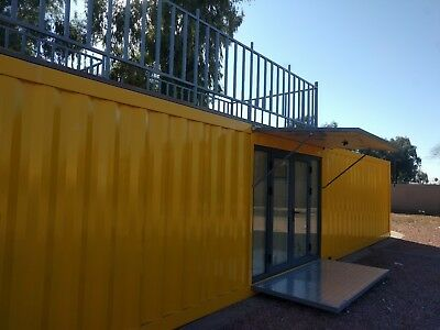 40' Custom Built Shipping Container Home in Phoenix, Arizona. Tiny house!
