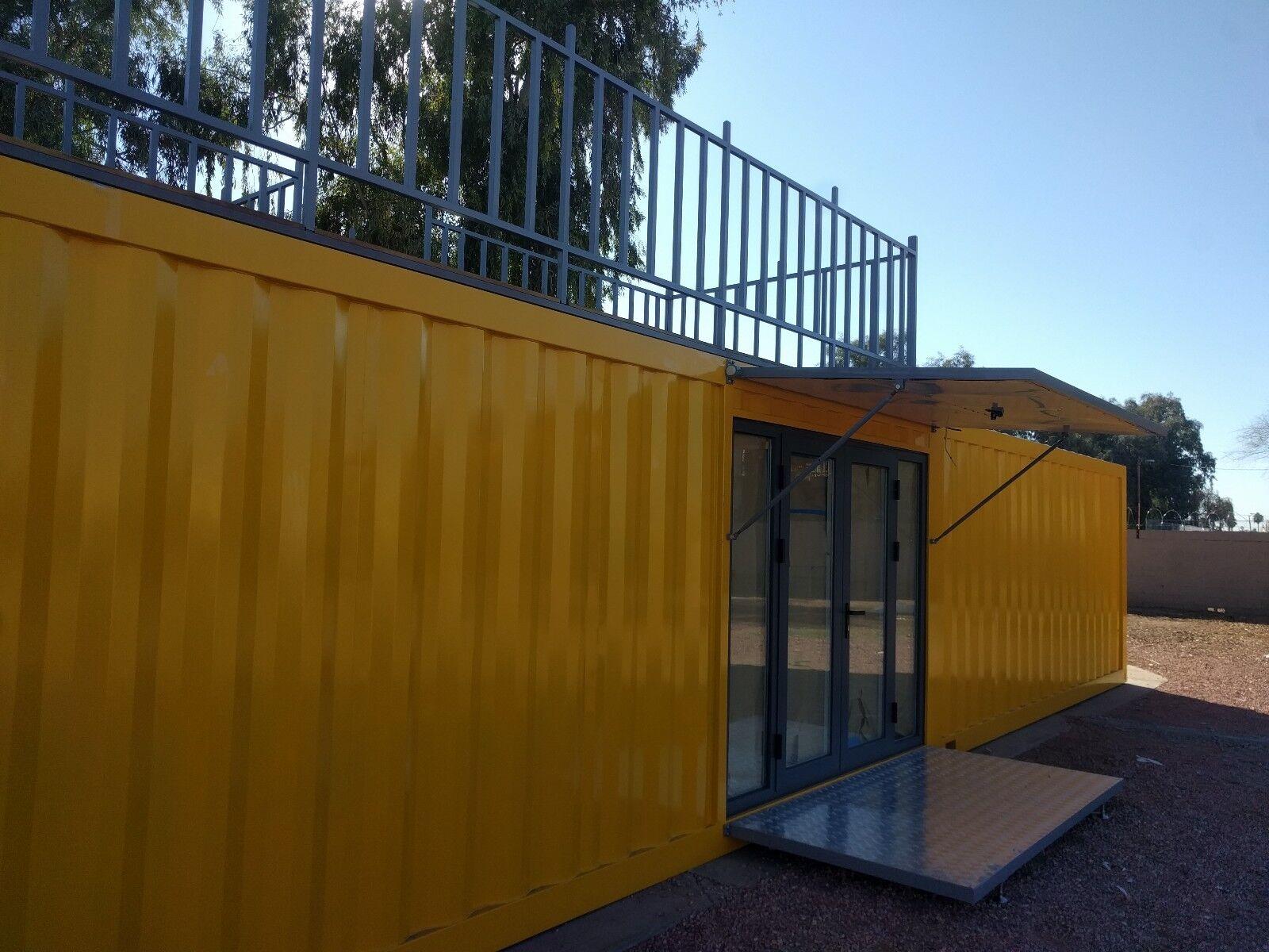 40' Custom Built Shipping Container Home in Phoenix, Arizona. Tiny house!