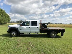 Flatbed Ford F550