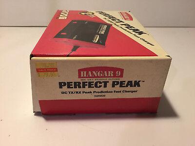 - HANGAR 9 ~PERFECT PEAK ~DC TX/RX PEAK PREDICTION FAST CHARGER HAN9520 NEW IN BOX