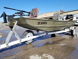 2008 Princecraft JON BOAT! INCLUDES TRAILER, SEATS, MOTOR, AND T