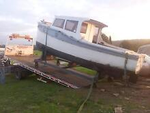 24ft Timber Boat - Wooden Boat - Carvel Hull - Project Scoresby Knox Area Preview