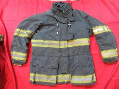 Black Globe Drd Gxtreme 42 X32 Firefighter Turnout Bunker Jacket Fire Fdny Style