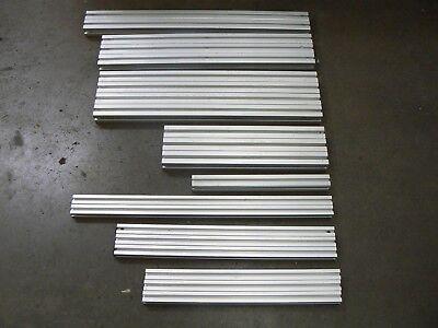 8020 T-slot Aluminum Extrusion Mixed Lot - 21 Pieces