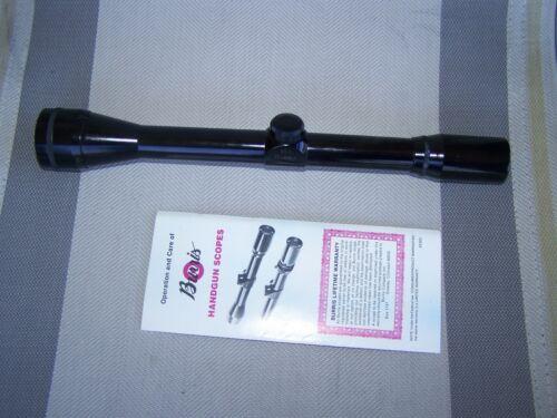 Burris 10x A.O. Pistol Scout Rifle Scope ~USA~ IER