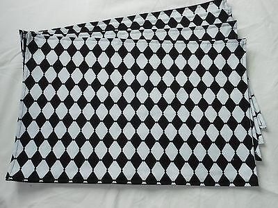 Пластмассовые Everyday Black and White Diamond