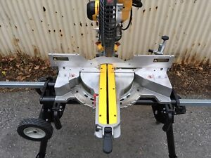 "Dewalt 12"" DWS780 Double Bevel Sliding Compound Mitre Saw"
