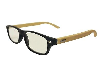 Crazy Charlie Classic Real Bamboo Reading (Bamboo Reading Glasses)