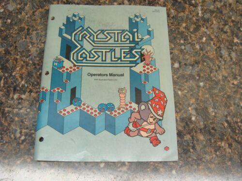 Crystal Castles Video Arcade Game Service Manual, Atlanta (752)