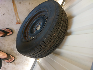 Tyre and rim Butler Wanneroo Area Preview