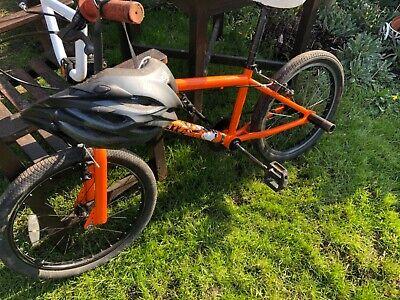 Bmx bike orange Deka