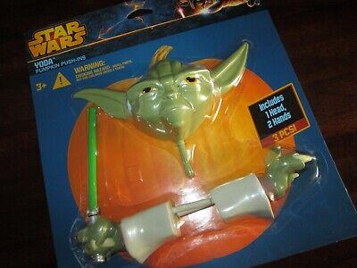 Yoda Pumpkin (Star Wars YODA PUMPKIN PUSH-INS Decoration HEAD & HANDS New 3pc)