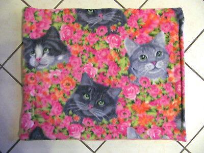 Refillable Fleece Cat Bed Kitty Catnip Pad Mat Toy Organic Cat Nip Handmade New