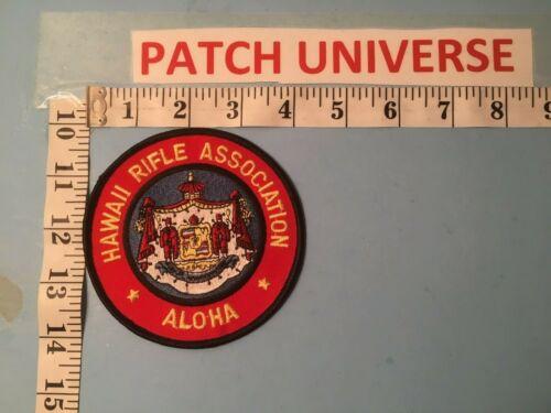 HAWALL RIFLE ASSOCIATION ALOHA   SHOULDER PATCH  B131