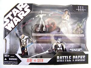 STAR WARS SAGA MULTI FIGURE BATTLE PACKS - MANY TO CHOOSE FROM MISB