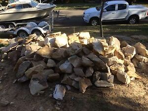 Free bush rock sandstone - Illawong Illawong Sutherland Area Preview