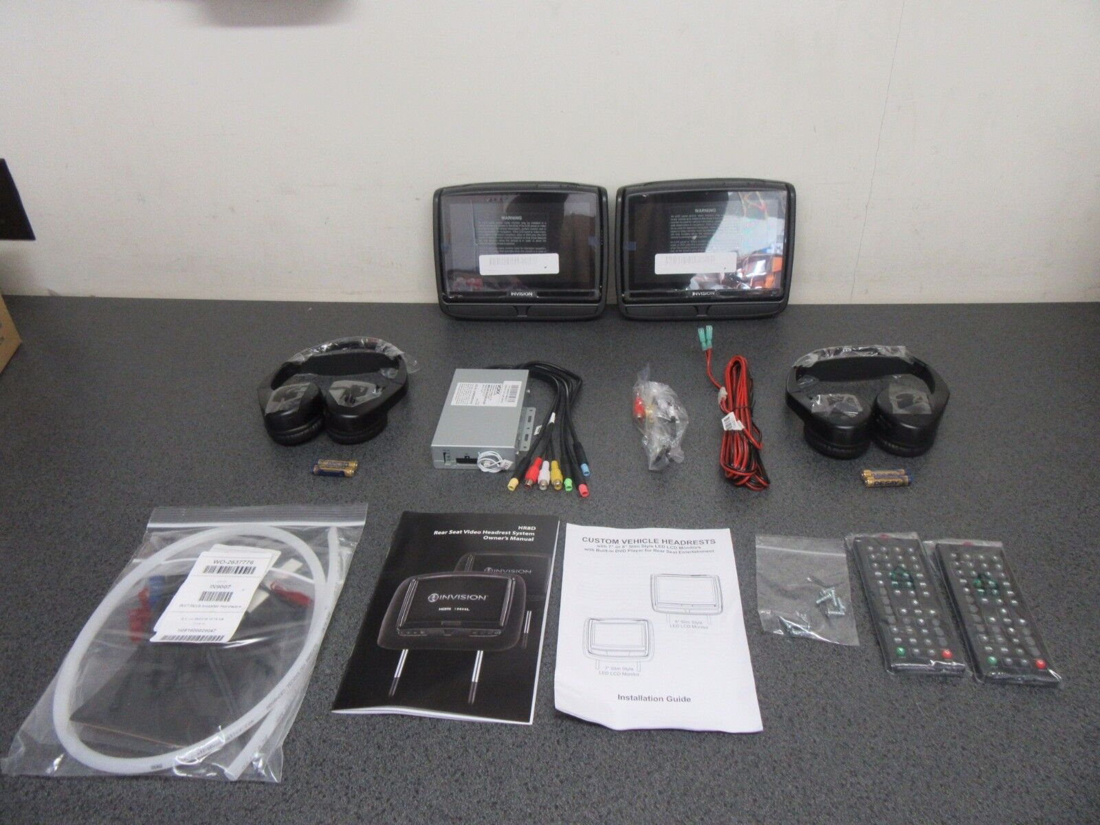 """NEW 8"""" Touch Screen Monitors w/ Dual DVD Players & Dual Android Operating System"""