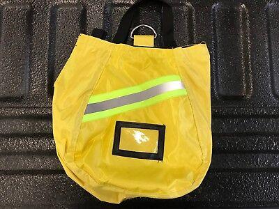 Scba Mask Bag 2018 Deluxeyellowfirefighter Isi Emtfirerespirator