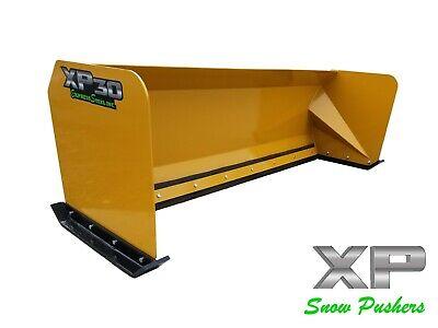 8 Xp30 Snow Pusher Box Skid Steer Bobcat Case Caterpillar Local Pickup