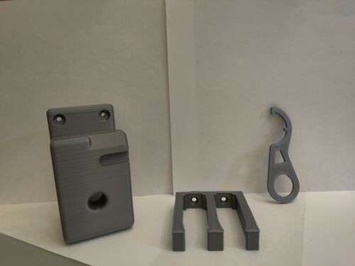 AR Wall Mount & Magazine Holder + Free Castle Nut Wrench