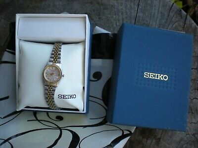 New old stock Ladies Seiko quartz watch 7N83-0041 with box,papers, buy it now
