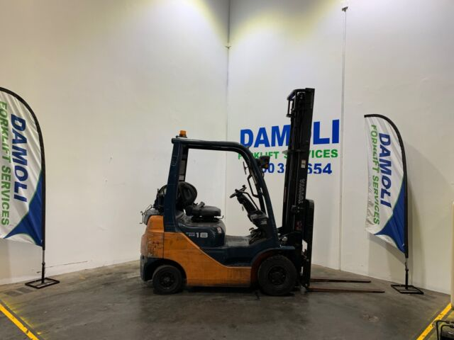 Late Model 8 Series Toyota Forklift For Sale | Other Construction