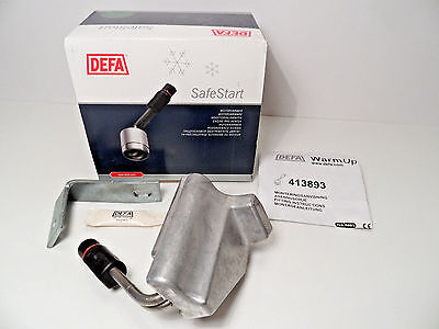 Engine Oil Pan Heater Element DEFA 413893 BMW 335i xDrive Automat 2009->