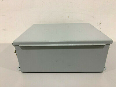 New Hoffman A1008lp Lift-off Clamp Cover Enclosure
