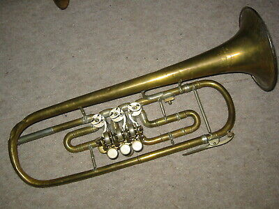 Musical Instruments & Gear Alte Tuba Horn Migma Elegant In Style