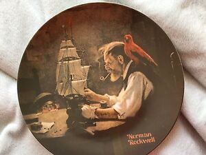 Norman Rockwell Plate The Ship Builder