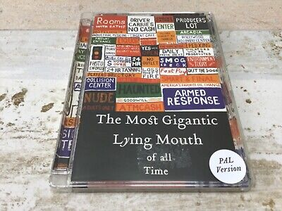 Radiohead - The Most Gigantic Lying Mouth Of All Time DVD 2004  Thom York (The Most Gigantic Lying Mouth Of All Time)