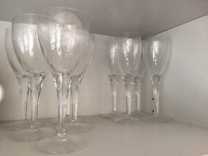 Free wine glasses. Seven Hills Blacktown Area Preview