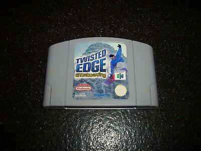 N64 TWISTED EDGE SNOWBOARDING ORIGINAL CARTRIDGE ONLY