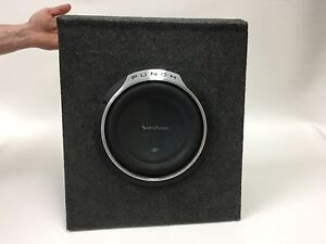 """ROCKFORD FOSGATE P3S 10"""" PUNCH SUBWOOFER IN ENCLOSURE Gladesville Ryde Area Preview"""