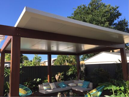 Patios Gable Roof Flat Roof Insulated Colorbond Insulated