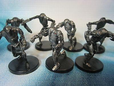 Star Wars Miniatures Lot  Super Battle Droid Commander !!  s97