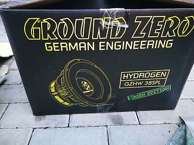 "Ground zero 15 "" SPL 38"