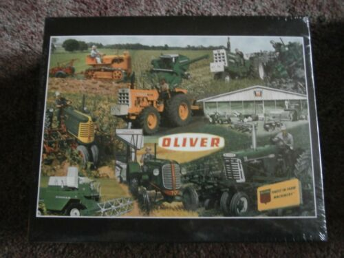 OLIVER FOR MEN WHO GROW Tractor Puzzle-NIB