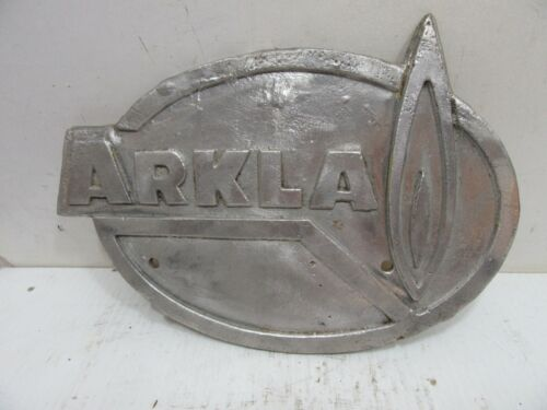 "Arkla Gas Line Aluminum Marker / Sign / Plaque 10.5"" X 7"""