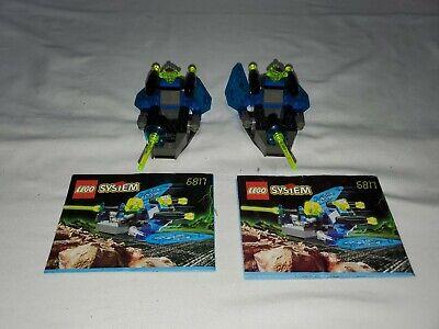 Lego 2 sets 6817 Beta Buzzer - 1998 - 100% Build Complete No Figs