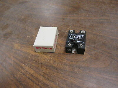 Crydom Solid State Relay D4875 Input3-32vdc Output280480vac 75a Used