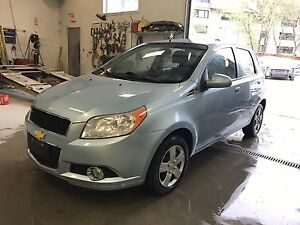 2011 Light Blue Chevrolet Aveo LT