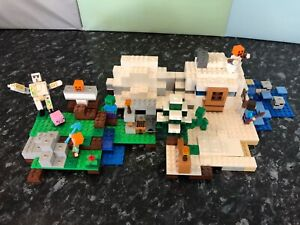 Lego Minecraft - 2 Sets Ballajura Swan Area Preview